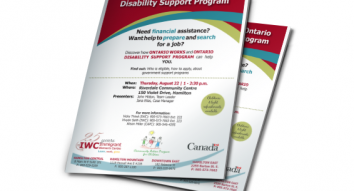 Ontario Works and Ontario Disability Support Program Workshop
