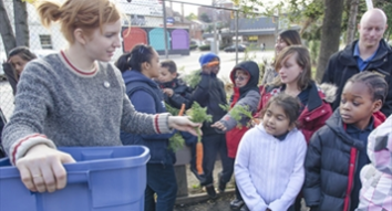Nutrition pilot program pedals local produce to kids