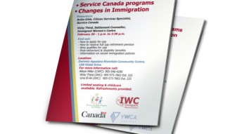 Service Canada Programs – Changes in Immigration Information Session