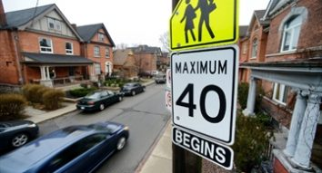 City eyes default 40 km/h residential speed limit