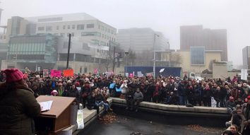 'I was blown away': Images and tweets from the Hamilton Women's March