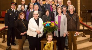 Co-existence service at Beth Jacob attracts 300