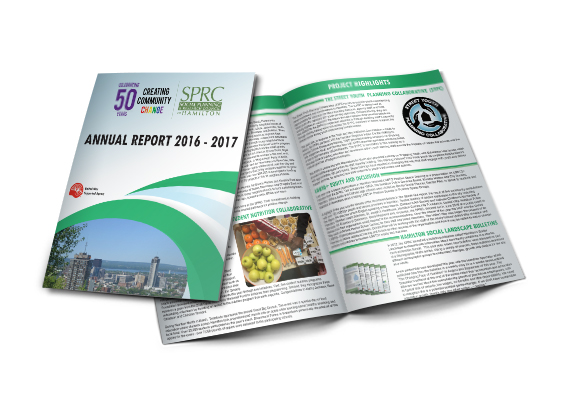 Annual Report Template Slider