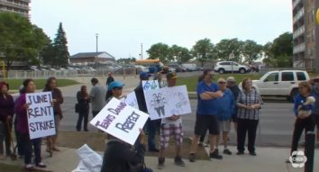 Tenants protest rent increases in East Hamilton