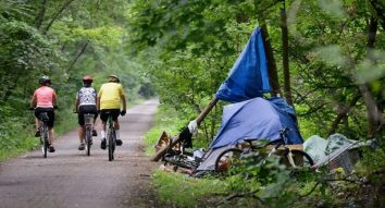 TheSpec_Homeless-Tents-Rail-Trail