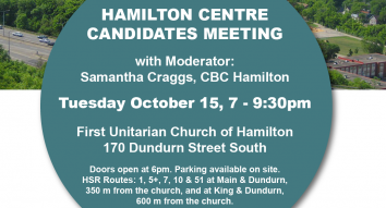 Hamilton Centre Candidates Meeting