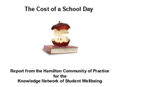 The Cost of a School Day: Report from the Hamilton Community of Practice for the Knowledge Network of Student Wellbeing